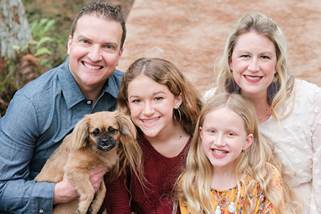 Photo of Dr. Metz's Family