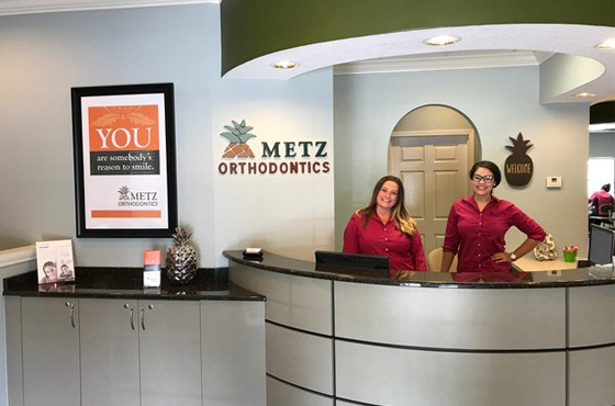 Metz Orthodontics Front Desk